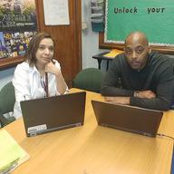 Ms. Rivera & Mr. Horton in the spotlight